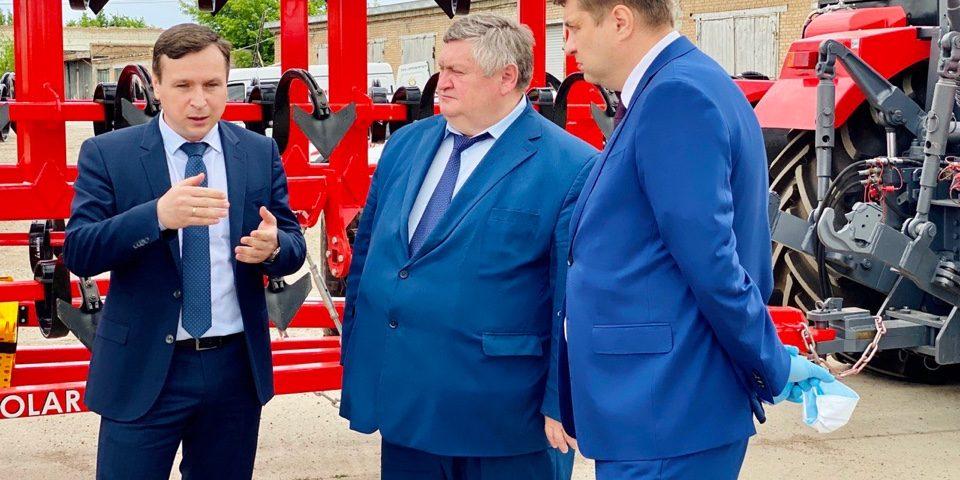 Первый заместитель генерального директора АО «Росагролизинг» Александр Сучков провёл рабочую встречу с губернатором Оренбургской области Денисом Паслером