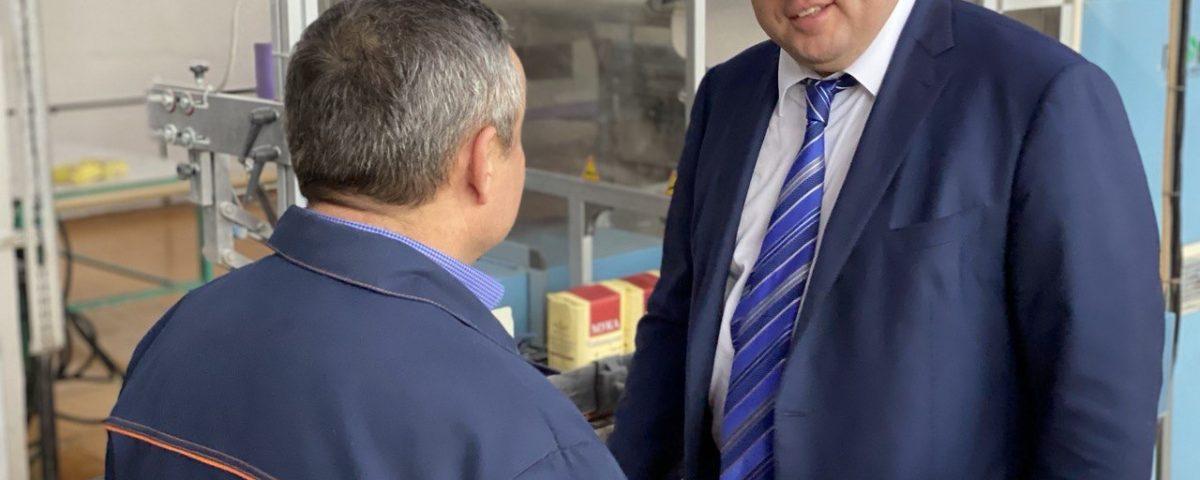 Павел Косов посетил производственные площадки в Республике Чувашия