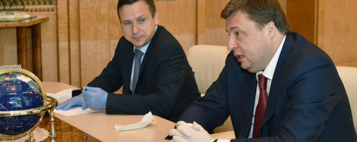 Павел Косов обсудил с Президентом Республики Татарстан Рустамом Миннихановым меры поддержки льготного лизинга в регионе